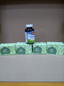 (5)Carlson康聖水汪汪膠囊食品180顆裝2瓶(圖片僅供參考,請以容量內容為準)