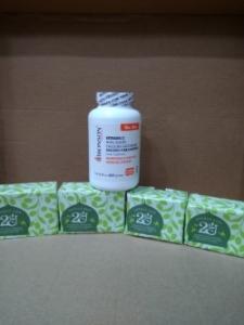 (6)Bronson Calcium Ascorbate 水溶性柔和維他命C晶粉227克裝4瓶裝(圖片僅供參考,請以容量內容為準)
